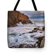 Bald Head Cliff Tote Bag