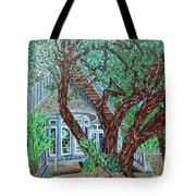 Bald Head Island, Village Chapel Tote Bag