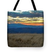 Bald Mountain Sunset Tote Bag