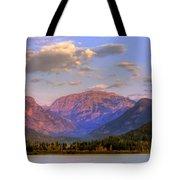 Baldy Shadow Mountain Lake Tote Bag