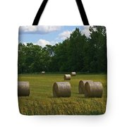 Bales In The Field Tote Bag