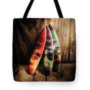 Bali Beach Surf Holiday Scene Tote Bag