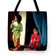 Bali Children Tote Bag
