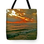 Bali Evening Sky Tote Bag