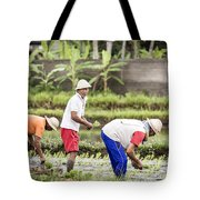 Bali Farming Tote Bag