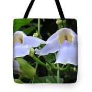 Bali Flowers 3 Tote Bag