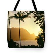 Bali Hai, Yellow Tote Bag