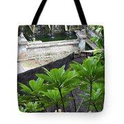 Bali Lady Fountain Tote Bag