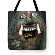 Bali Mask Tote Bag