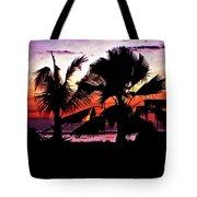Bali Sunset Tote Bag