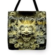 Bali Temple Art Tote Bag