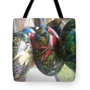 Bali Wooden Eggs Artwork Tote Bag