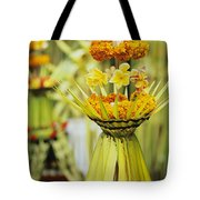 Balinese Ceremony Tote Bag