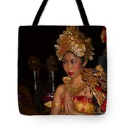 Balinese Dancer Tote Bag