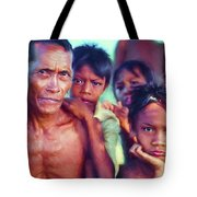 Balinese Gothic - Paint Tote Bag