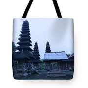 Balinese Temple On Side Tote Bag