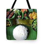 Balinese Traditional Lunch Tote Bag