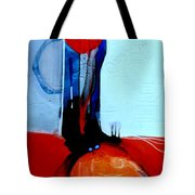 Ball And Chain Outcome Tote Bag