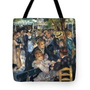 Ball At The Moulin De La Galette 1876 Tote Bag