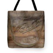 Ball Mason Jar Tote Bag