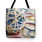 Ball Of Bands Tote Bag