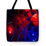 Ball Of Color - Red Tote Bag