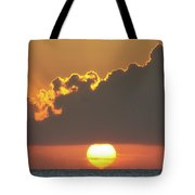Ball Of Fire Tote Bag by David Buhler