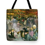 Ball On The 14th July Tote Bag
