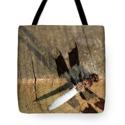 Ball Point Dragon Fly Tote Bag