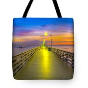 Ballast Point Sunrise - Tampa, Florida Tote Bag