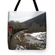 Ballast Train Tote Bag