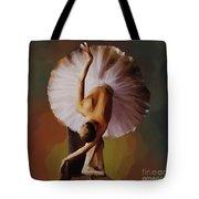 Ballerina Art 0421 Tote Bag