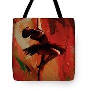 Ballerina Dance 0800 Tote Bag