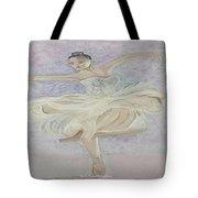 Ballerina Dancer Tote Bag