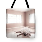 Ballerina Down Tote Bag