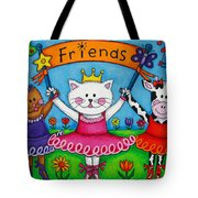 Ballerina Friends Tote Bag