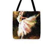 Ballerina Girl Tote Bag