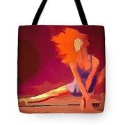 Ballerina Red Tote Bag
