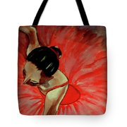 Ballerine Rouge Tote Bag