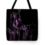 Ballet Before The Curtain Rises  Tote Bag