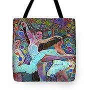 Ballet Carnival Tote Bag