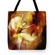 Ballet Dance 3390 Tote Bag