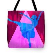 Ballet Dancer Tote Bag by David G Paul