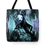 Flamenco Dancer Art 56yt Tote Bag