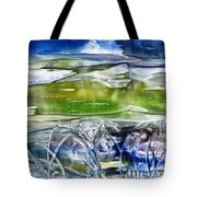 Ballet In The Sea Tote Bag