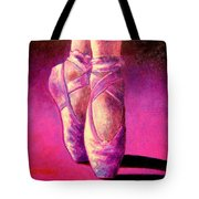 Ballet Shoes  II Tote Bag