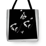 Ballet Silouette Tote Bag