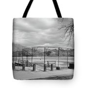 Ballfields Tote Bag