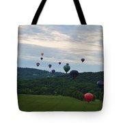Ballon Festival  Tote Bag