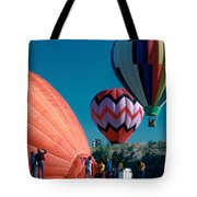 Ballon Launch Tote Bag